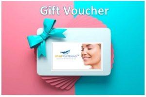 Teeth Whitening Gift Voucher Coupon